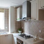 现代简约小厨房厨柜