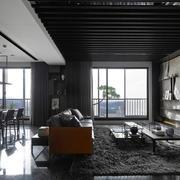 家居客厅温暖地毯设计