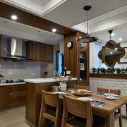公寓开放式美式厨房