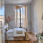 卧室窗帘装饰图片