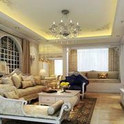 客厅简欧风格设计