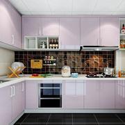 L字型的厨房图片