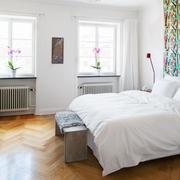 素雅的家居小型卧室
