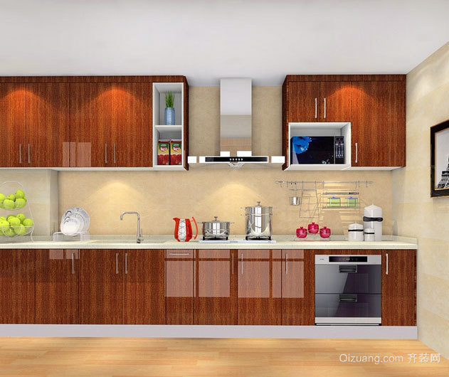 苏格兰两室一厅10平米厨房装修效果图