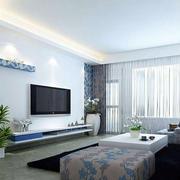 简洁明亮的客厅装饰