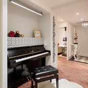 小户型钢琴摆放布置