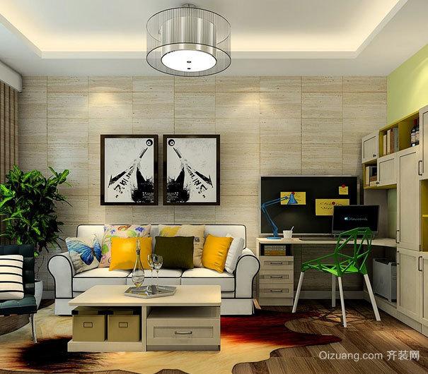现代家居客厅时尚灯饰装修效果图