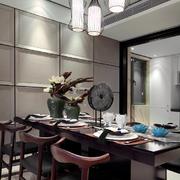 家居餐厅餐桌装饰