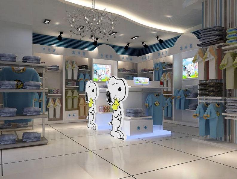 2015活灵活现的都市童装店装修效果图大全