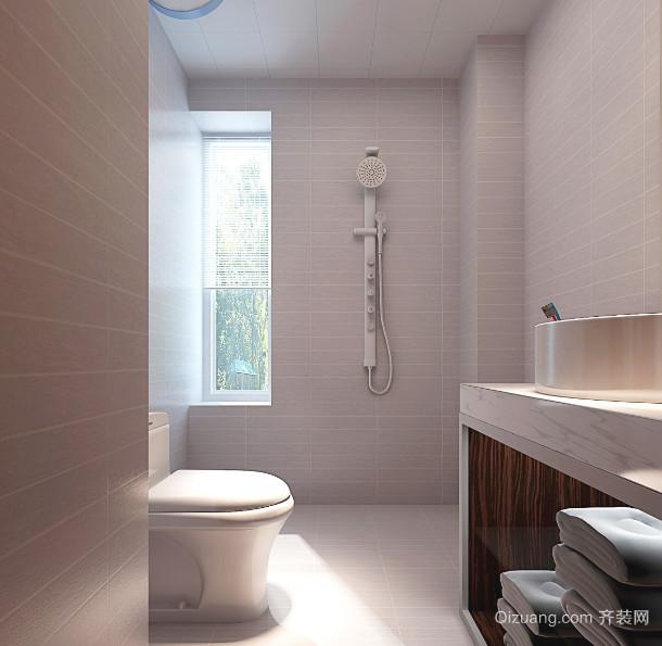 大户型低调风格卫生间装修效果图