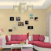 客厅沙发照片墙设计