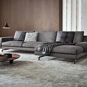 客厅舒适转角沙发展示
