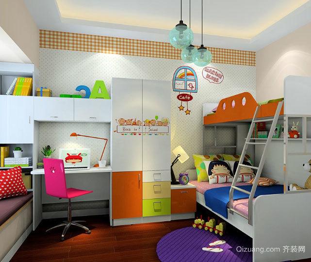 30平米超具人气的现代简约儿童房装修效果图