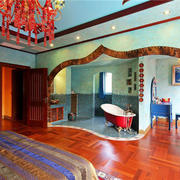 东南亚风格的浴室