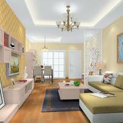 客厅转角沙发图片