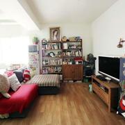 精致客厅木地板展示