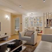 家居客厅隔断设计