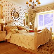 精巧的时尚大卧室