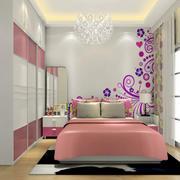 温暖卧室壁柜效果图