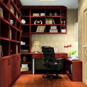 书房转角书桌展示