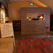 美式装饰的咖啡馆