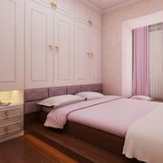 小公寓粉色卧室欣赏