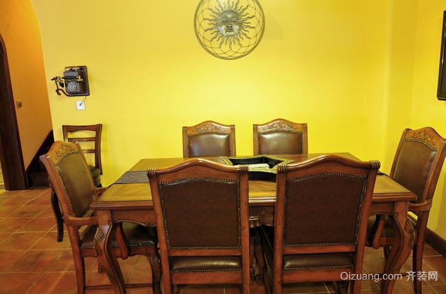 鲜艳的黄色混搭风格家居装修效果图鉴赏