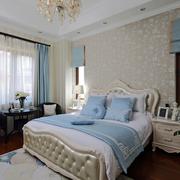 欧式素雅的卧室装饰
