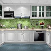 U字型厨房装饰设计