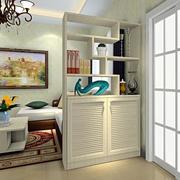 客厅鞋柜隔断设计