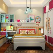 鲜艳亮丽的卧室