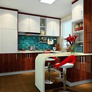 厨房吧台欣赏图