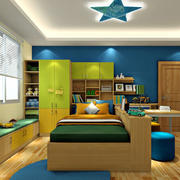 彩色时尚的卧室赏析