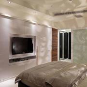 卧室组合壁柜背景墙