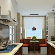 家居小厨房展示