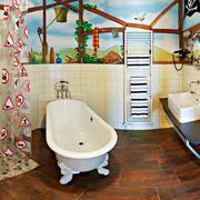 浴室十分特别的装饰