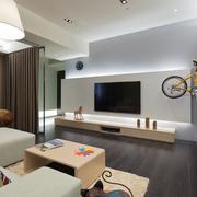 家居个性化的电视背景墙