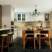 厨房餐厅一体化装饰