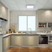 复式楼优雅气质的厨房