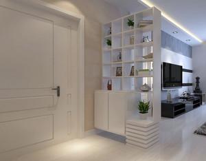 2015设计经典的豪华玄关鞋柜装修效果图大全