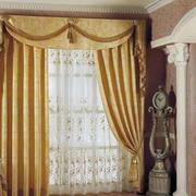 客厅欧式窗帘