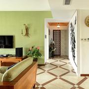 家居小型走廊图