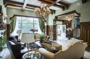 高端大气的美式别墅装修设计效果图鉴赏