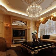 别墅美欧式客厅