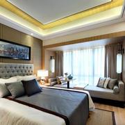120平米房屋卧室榻榻米床