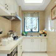 房屋L型小厨房