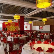 中式风格的大饭店