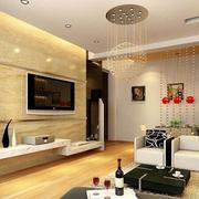 房屋水晶吊灯图