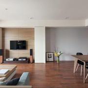 简约式家居自然木地板