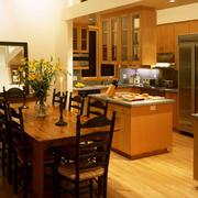 美式温馨厨房欣赏